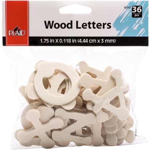 Plaid ® Wood Surfaces - Letter Packs - Dot to Dot
