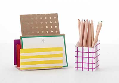 Chromatic Desk Organizer