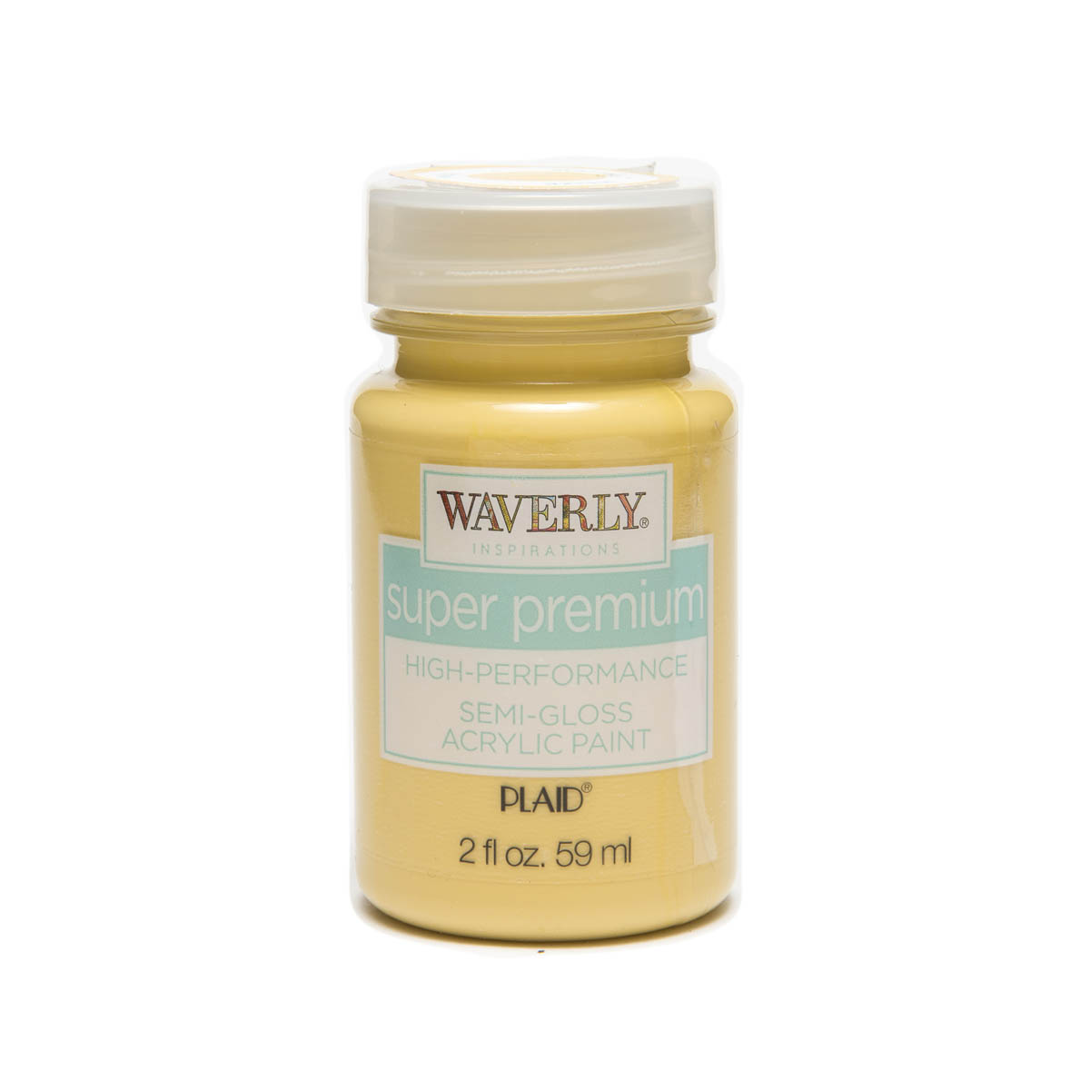 Waverly ® Inspirations Super Premium Semi-Gloss Acrylic Paint - Maize, 2 oz. - 60622E