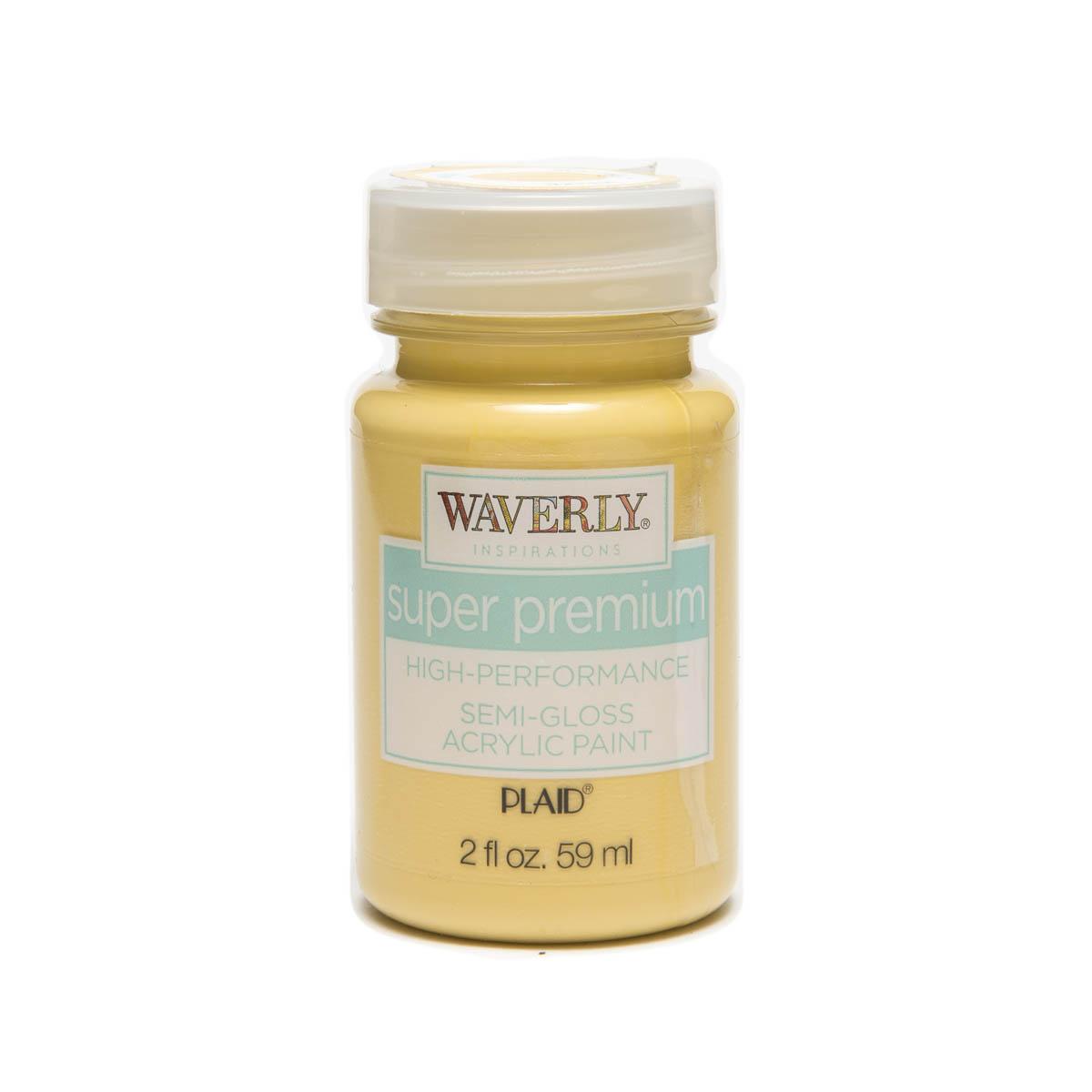 Waverly ® Inspirations Super Premium Semi-Gloss Acrylic Paint - Maize, 2 oz.
