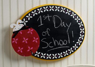 Jumbo Ladybug Chalkboard