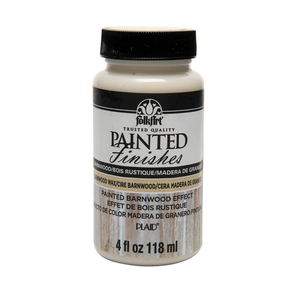 FolkArt ® Painted Finishes - Barnwood Wax, 4 oz.