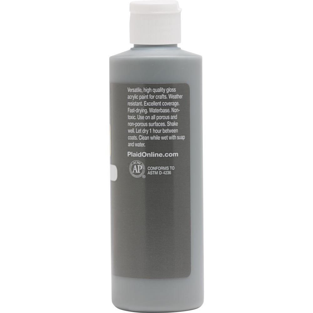 Apple Barrel ® Gloss™ - Dark Gray, 8 oz. - 22478E
