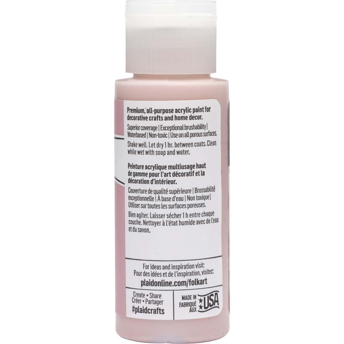 FolkArt ® Acrylic Colors - Cottage Rose, 2 oz. - 11930