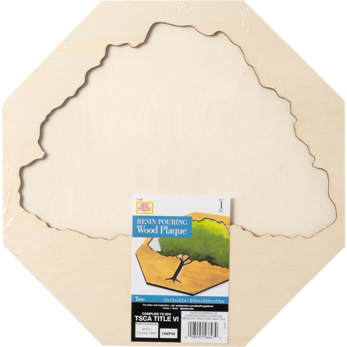 Mod Podge ® Resin Pouring Surface - Tree of Life Plaque - 56647E
