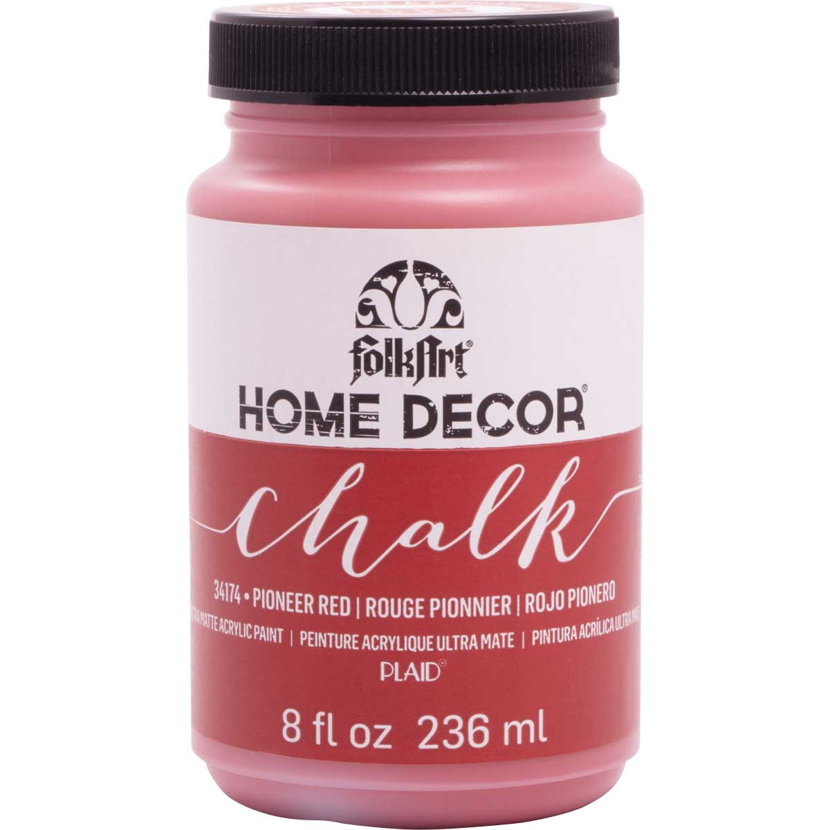 FolkArt ® Home Decor™  Chalk - Pioneer Red, 8 oz.
