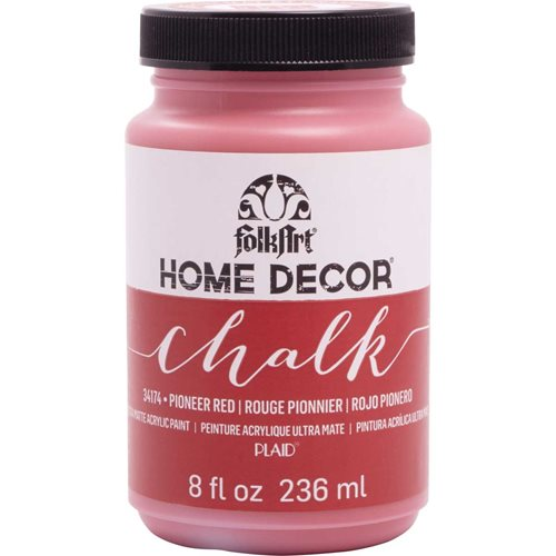 FolkArt ® Home Decor™  Chalk - Pioneer Red, 8 oz.