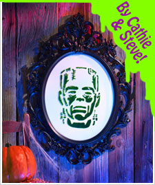 Halloween Frankie Baby Art