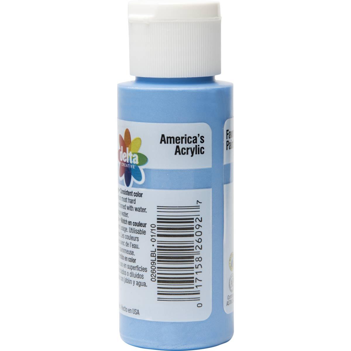 Delta Ceramcoat ® Acrylic Paint - Bobby Blue Pearl, 2 oz. - 026090202W