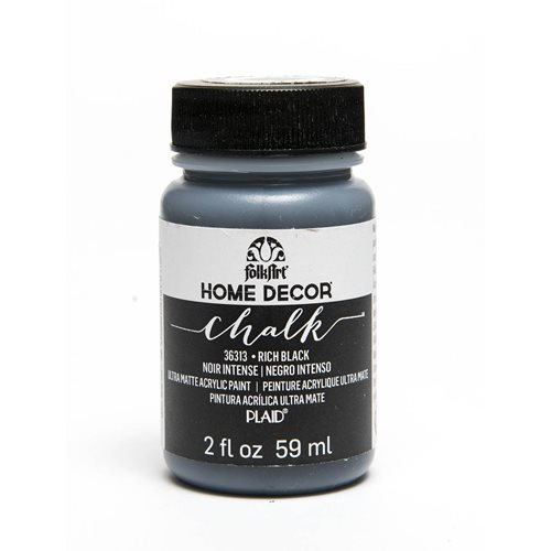 FolkArt ® Home Decor™ Chalk - Rich Black, 2 oz.