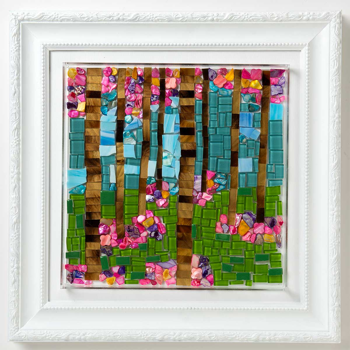 Flowery Forest Mosaic