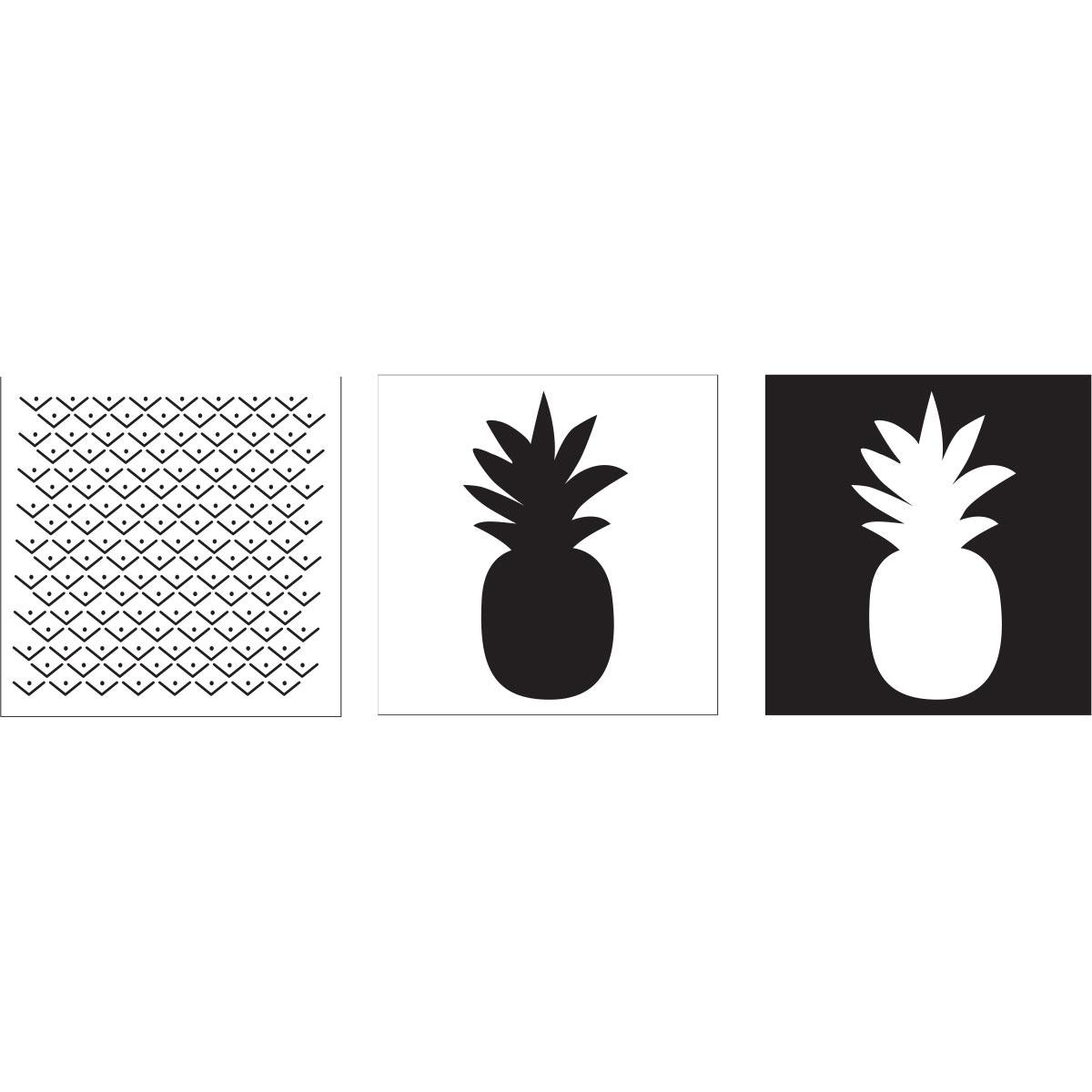 FolkArt ® Layering Stencils - Pineapple - 13232