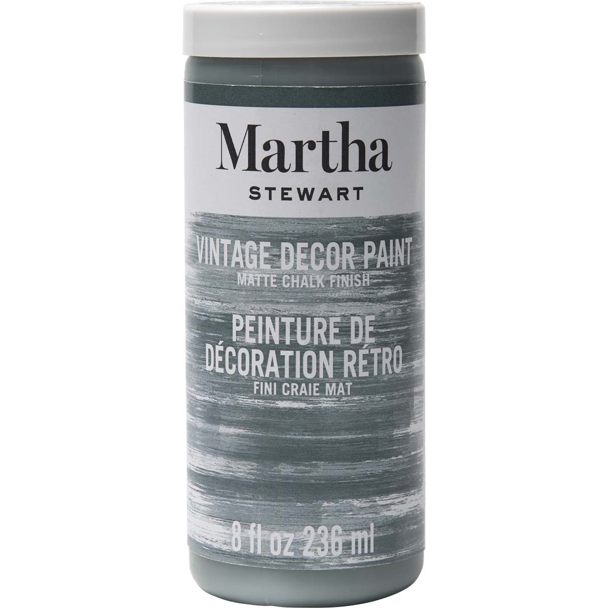 Martha Stewart ® Vintage Decor Matte Chalk Acrylic Paint - River Rock, 8 oz. - 33525