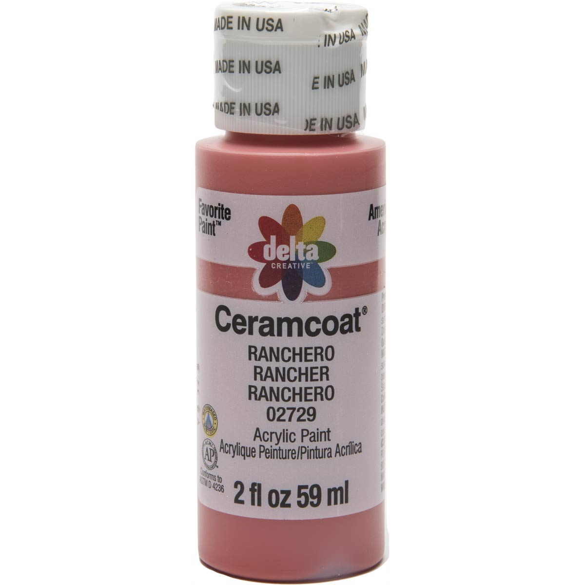 Delta Ceramcoat ® Acrylic Paint - Ranchero, 2 oz. - 02729