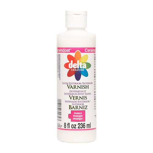 Delta Ceramcoat ® Varnishes - Exterior/Interior - Satin, 8 oz.