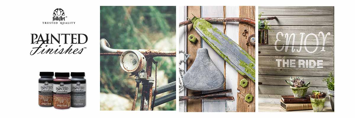 FolkArt Painted Finishes Dimensional Texture Craft Paint