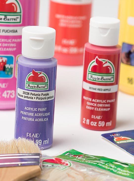 Apple barrel brand diy craft supplies plaid online for Wholesale acrylic craft paint