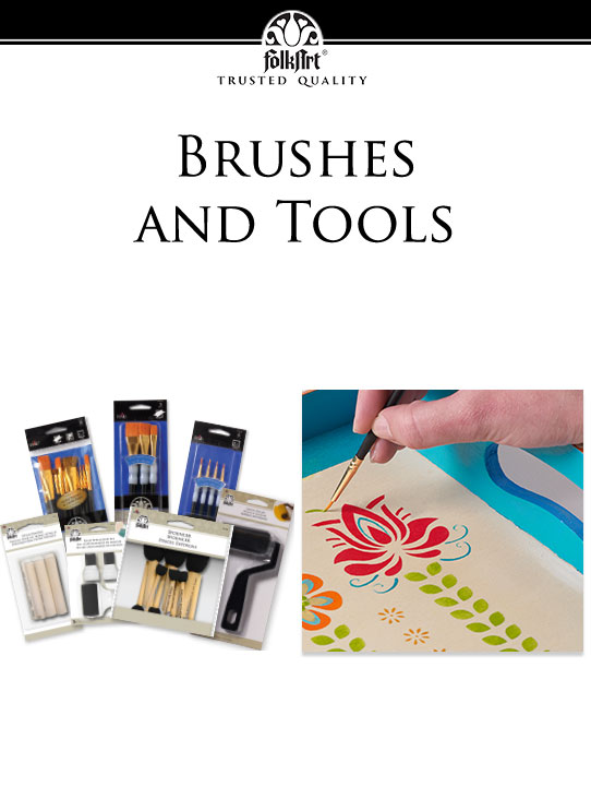 FolkArt Brushes & Tools