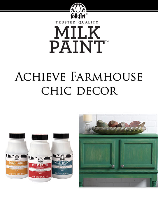 FolkArt Milk Paint