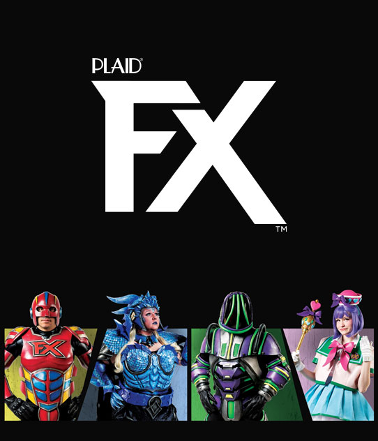 Plaid FX - Flexible Acrylic paint for cosplay, costuming, and more