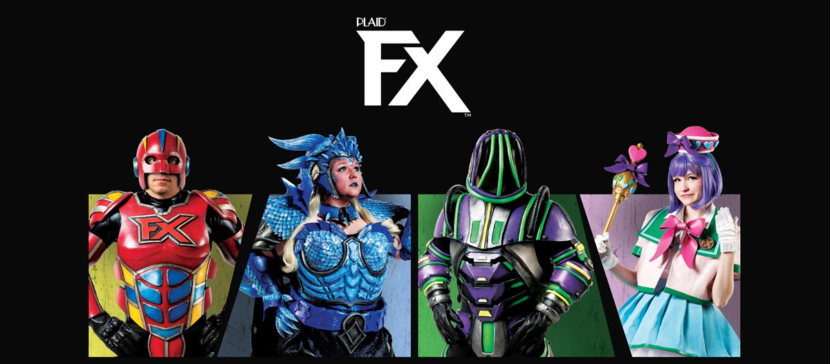 PlaidFX - Flexible Acrylic paint for cosplay, costuming, and more