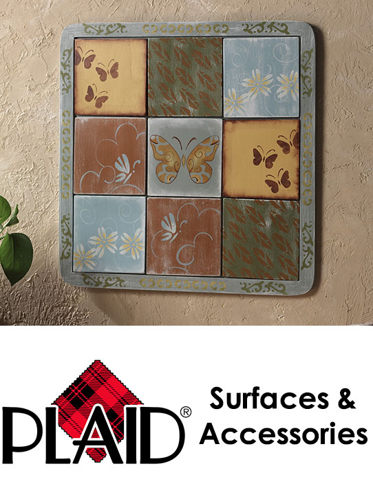 Plaid Craft Surfaces & Accessories