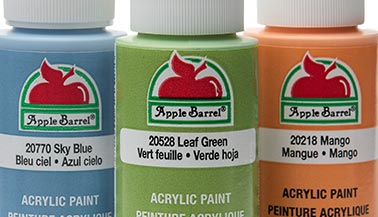 Apple Barrel Matte Acrylic Paint Color Chart