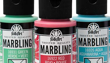 FolkArt Marbling & Pouring Paint Color Chart