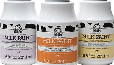 FolkArt Milk Paint Color Chart