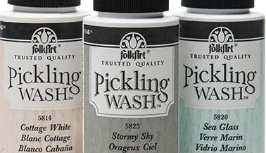 FolkArt Pickling Wash Color Chart