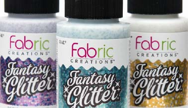 Fabric Creations Fantasy Glitter Color Chart