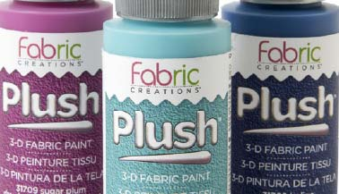 Fabric Creations Plush Fabric Paint Color Chart