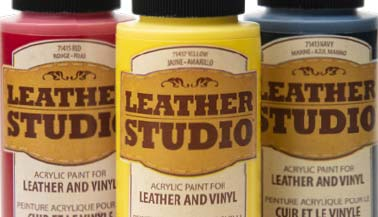 Leather Studio Leather & Vinyl Paint Color Chart