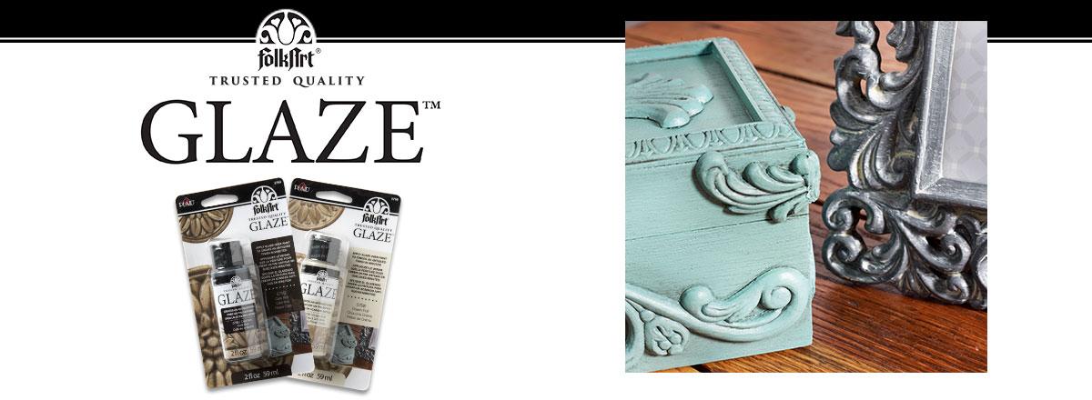 How To Use FolkArt Glaze - DIY Crafts