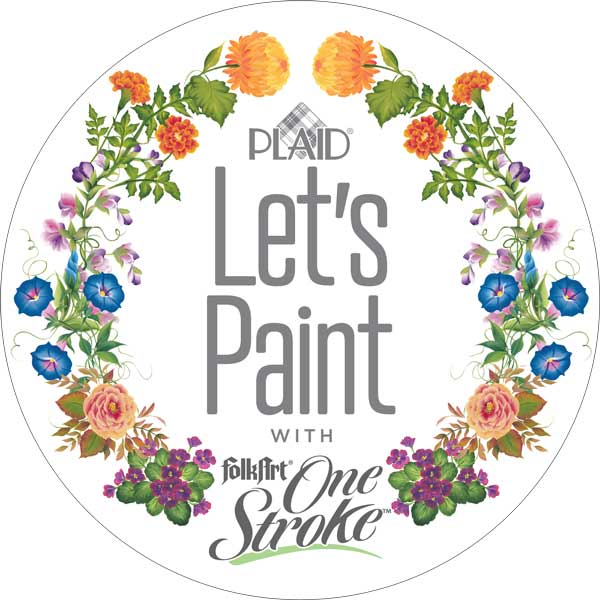 Let's Paint One Stroke with Donna Dewberry