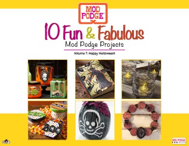 Halloween Decoupage Project Ideas