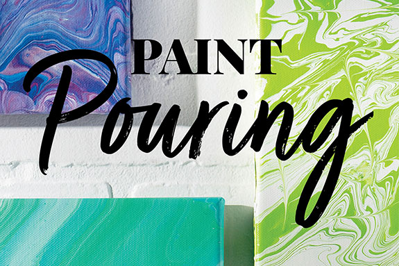 Acrylic Paint Pouring Idea Center
