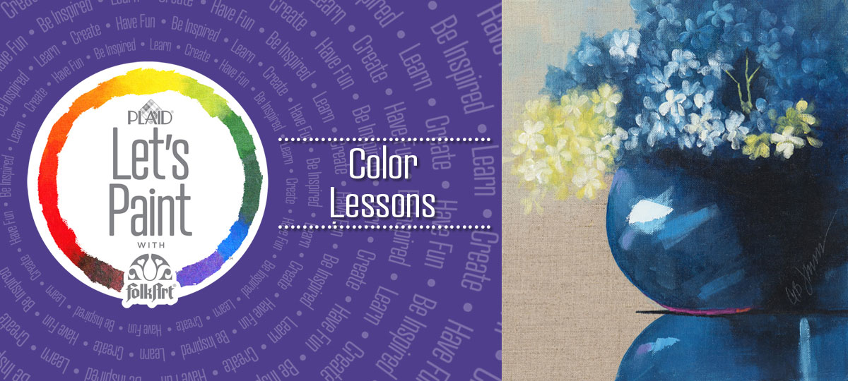Let's Paint with FolkArt Color Lessons Free Online Paint Classes