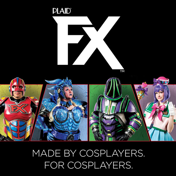 PlaidFX Flexible Acrylic Paint for Cosplay