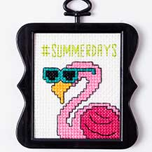 #SummerDays Flamingo Pattern