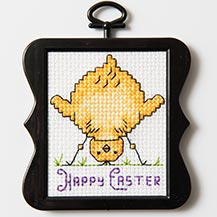 Free Easter Chick Cross Stitch Pattern
