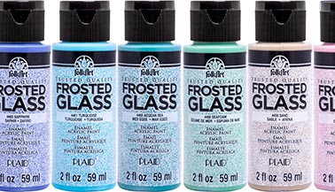 FolkArt Enamels Frosted Glass Paint FAQ