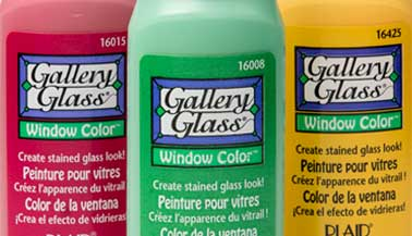 Gallery Glass Window Color Chart