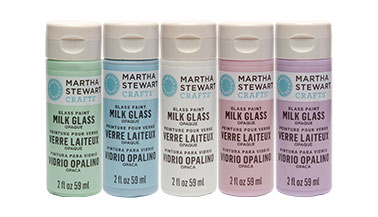 Martha Stewart Milk Glass Paint FAQs