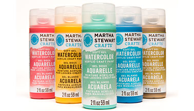 Martha Stewart Watercolor Craft Paint FAQs