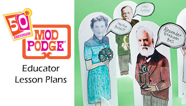 Free Lesson Plans featuring Mod Podge