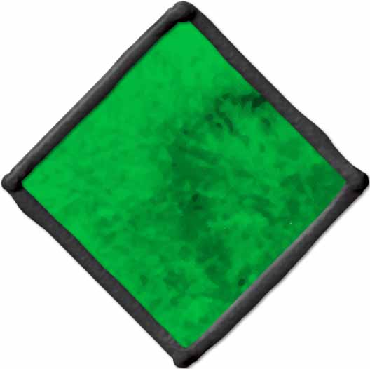 Gallery Glass ® Window Color™ - Kelly Green, 2 oz. - 16008