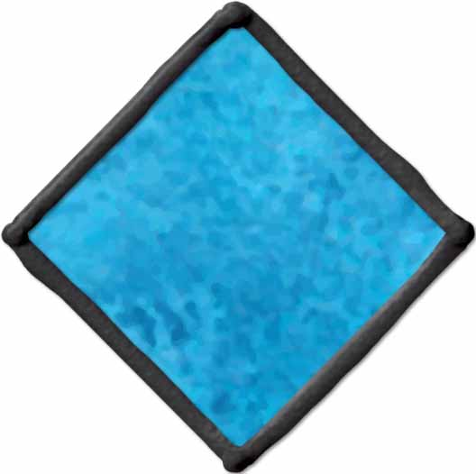 Gallery Glass ® Window Color™ - Blue Diamond, 2 oz. - 16011