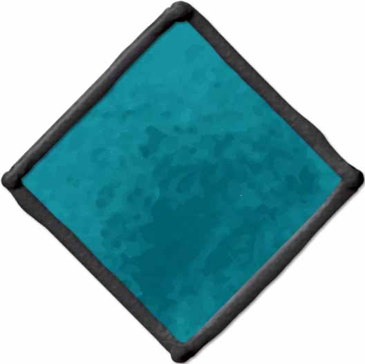 Gallery Glass ® Window Color™ - Turquoise, 2 oz. - 16036