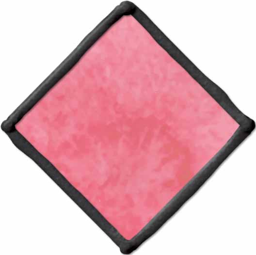 Gallery Glass ® Window Color™ - Rosy Pink, 2 oz. - 17047